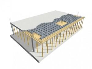سیستم سقف مجوف بتن مسلح-یوبوت-UBOOT-سقف جدید